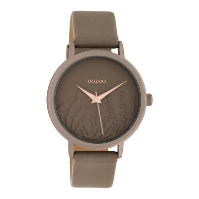 OOZOO Timepieces Taupe horloge C10603