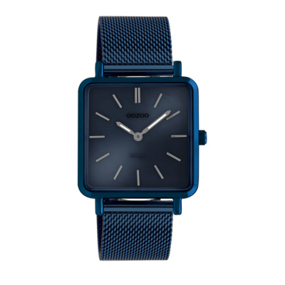 OOZOO Vintage Blauw horloge C20013 (29 mm)
