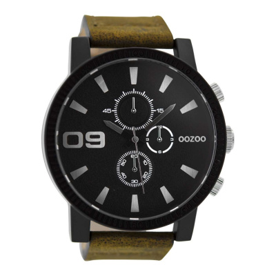OOZOO Zwart horloge C9033