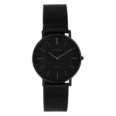 OOZOO Vintage Zwart horloge C9935 (32 mm)