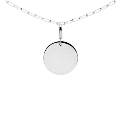 P D Paola 925 Sterling Zilveren  Engrave Me Amore Ketting CO02-088-U