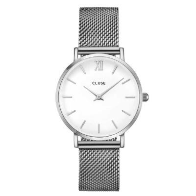 CLUSE Minuit Zilverkleurig Horloge CW0101203002