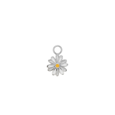 ANNA + NINA 925 Sterling Zilveren Daisy Oorbedel Silver 20-1M904004S