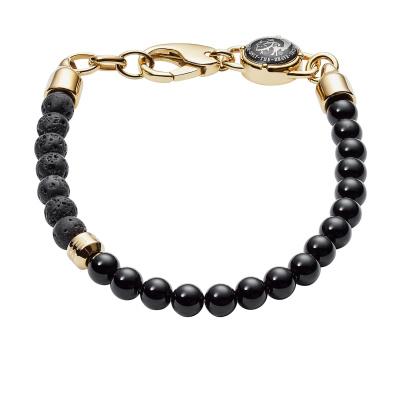 Diesel Beads Gouden Armband DX1058710 (Lengte : 18.00-19.50 cm)