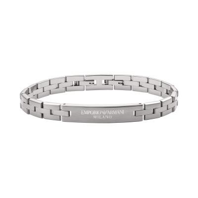 Emporio Armani Heren Armband van Roestvrij Staal EGS2814040