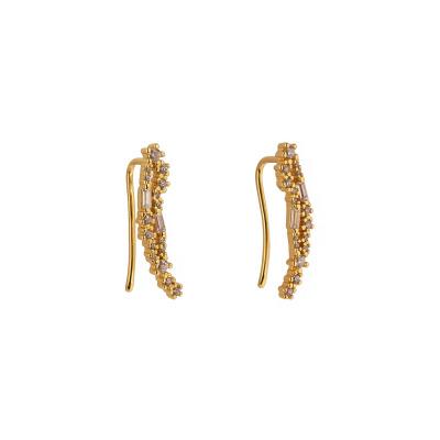 Franky Amsterdam 925 Sterling Zilver Goudkleurige The Angel earrings FA-00003