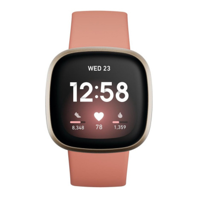 Fitbit Versa 3 Roségoud display smartwatch FB511GLPK
