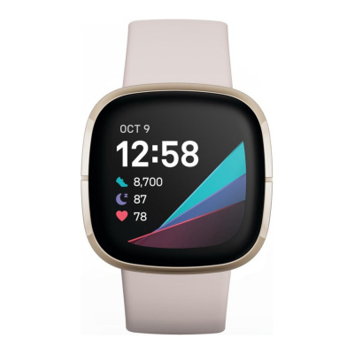 Fitbit Sense display smartwatch FB512GLWT
