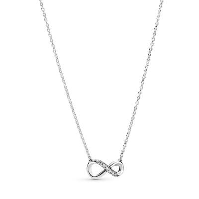 Pandora Stories 925 Sterling Zilveren Infinity Ketting 398821C01-50 (Lengte: 50.00 cm)