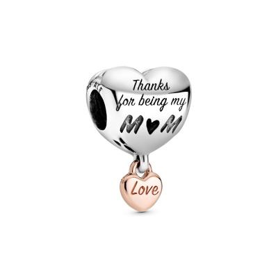 Pandora Moments 925 Sterling Zilveren Heart Bedel 788830C00