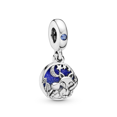 Pandora Moments 925 Sterling Zilveren Fox and Rabbit Bedel 798239NMB
