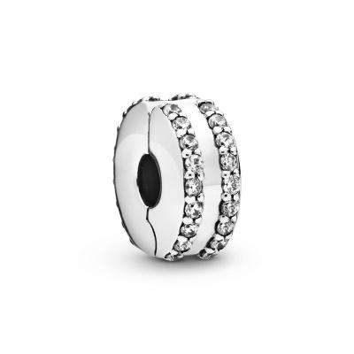 Pandora Moments 925 Sterling Zilveren Clip Bedel 798422C01