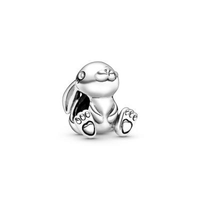 Pandora Moments 925 Sterling Zilveren Rabbit Bedel 798763C00