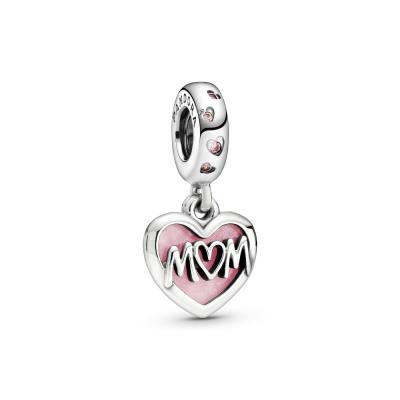 Pandora Moments 925 Sterling Zilveren Mum Bedel 798887C01