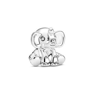 Pandora Friends 925 Sterling Zilveren Elephant Bedel 799088C00