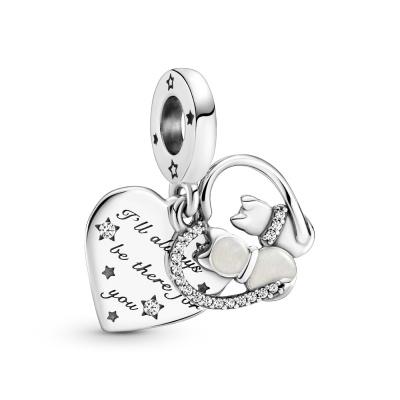 Pandora Passions Cats & Hearts Bedel 799546C01