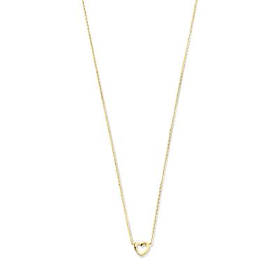 Isabel Bernard 14 Karaat Gouden Monceau Babette Ketting IB1001131 (Lengte: 41.00-43.00 cm)