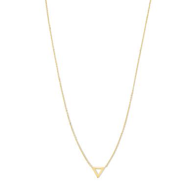 Isabel Bernard 14 Karaat Gouden Monceau Fabienne Ketting IB1001190 (Lengte: 38.00-43.00 cm)