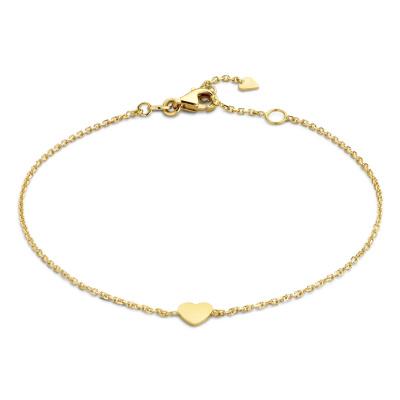 Isabel Bernard 14 Karaat Gouden Monceau Valérie Armband IB200126 (Lengte: 17.00-18.50 cm)
