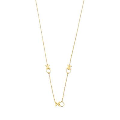 Isabel Bernrad Belleville Bisou 14 Karaat Gouden Collier IB340077