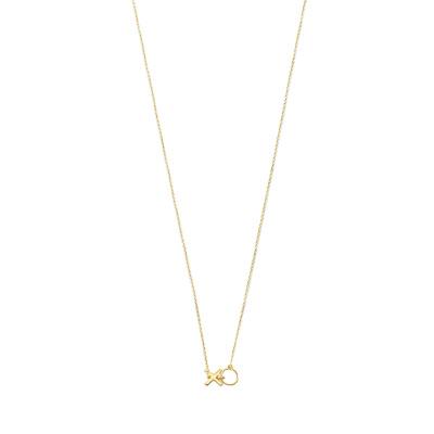 Isabel Bernard Belleville Bisou 14 Karaat Gouden Collier IB340080