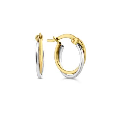 Isabel Bernard Le Marais Adame 14 Karaat Gouden Oorbellen IB360033