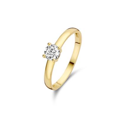 Isabel Bernard 14 Karaat Gouden Le Marais Soleil Ring IB4020024