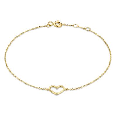 Isabel Bernard 14 Karaat Gouden Le Marais Alix Armband IB4020134 (Lengte: 16.00-18.00 cm)