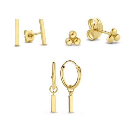 Isabel Bernard 14 Karaat Gouden Earparty Giftset IB90014