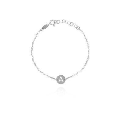 LOTT. gioielli 925 Sterling Zilveren Initial armband INBRSA-S67752 Letter A-Z
