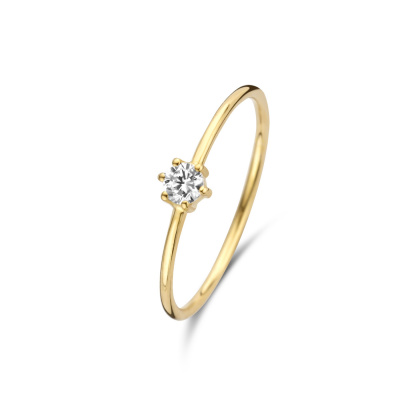 Isabel Bernard 14 Karaat Gouden Le Marais Abelle Ring IB330001