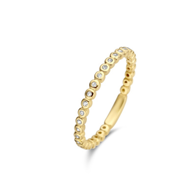 Isabel Bernard 14 Karaat Gouden Le Marais Aélys Ring IB4020974
