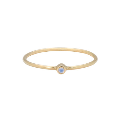 ANNA + NINA 14 Karaat Gouden Solid Gold Birthstone June Ring 19-3M908016G