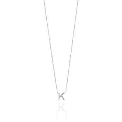 LOTT. gioielli 925 Sterling Zilveren Initial ketting INGIBA-S74502 Letter A-Z