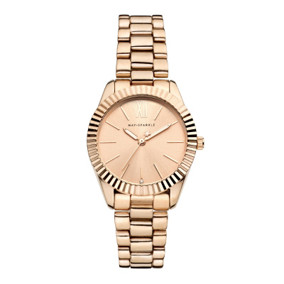 May Sparkle Luxurious Life Lala Roségoudkleurig horloge MSA014