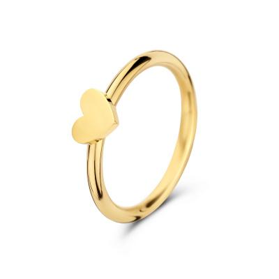 May Sparkle Happiness Eleonor Goudkleurige Ring MS10082