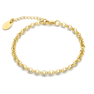 May Sparkle Summer Breeze Lisa Goudkleurige Armband MS320038