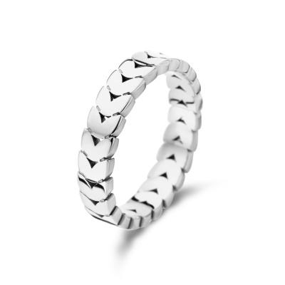 May Sparkle Summer Breeze Nadine Zilverkleurige Ring MS330007