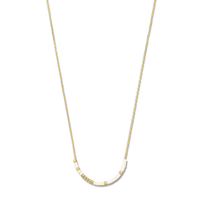 May Sparkle Happiness Rosemary Goudkleurige Ketting MS340001 (Lengte: 40.00-45.00 cm)