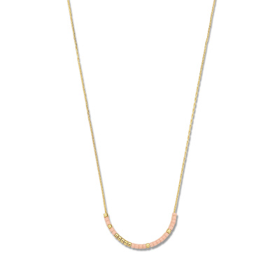 May Sparkle Happiness Rosemary Goudkleurige Ketting MS340002 (Lengte: 40.00-45.00 cm)