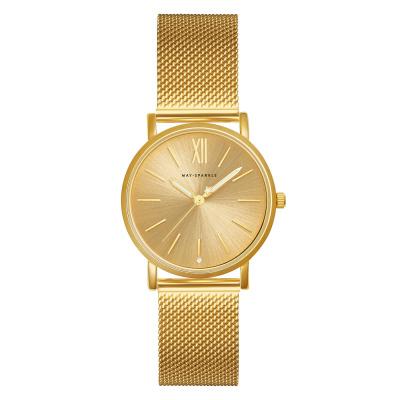 May Sparkle Bloom Girl Bloom Sunny Goudkleurig horloge MSB002