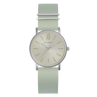 May Sparkle Classy Diva Misty Grijs horloge MSC006