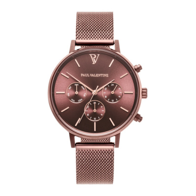 Paul Valentine Coffee horloge PVT3880501