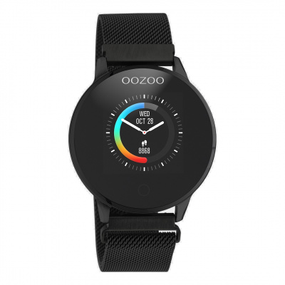 OOZOO Zwart Display Smartwatch Q00119