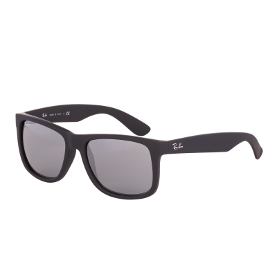 Ray-Ban Justin zonnebril Rubber Black RB4165 622/6G
