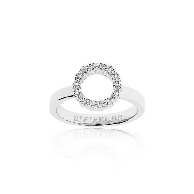 Sif Jakobs Biella Piccolo Ring 925 Sterling Zilver SJ-R337-CZ