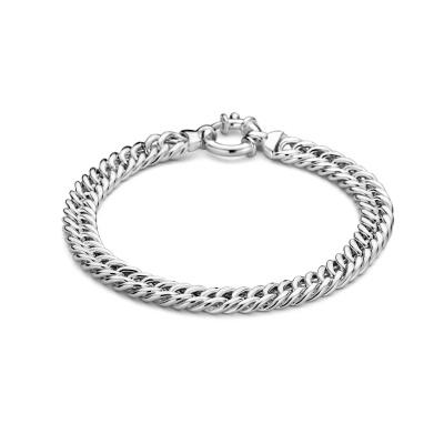 Selected Jewels 925 Sterling Zilveren Sofie Armband SJ0210208(Lengte: 19.00 cm)