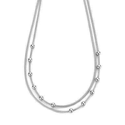 Selected Jewels 925 Sterling Zilveren Sanne Ketting SJ0210273 (Lengte: 42.00-45.00 cm)