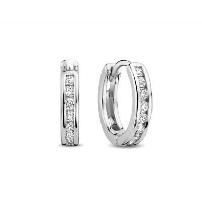 Selected Jewels Zirkonia Creolen Dames 1317737