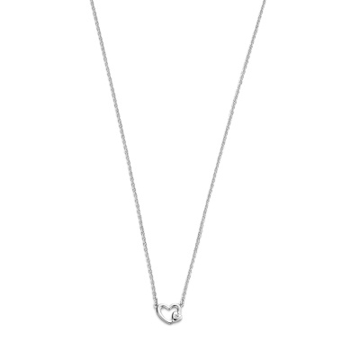 Selected Jewels Zirkonia Heart Ketting SJ1325704 (Lengte: 44 cm)